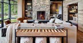 Консоль для гостиной: секреты выбора и 105 роскошных реализаций в интерьере фото