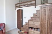 Фото 16 Кровать-чердак для взрослых: для тех, кто давно мечтает о большой и вместительной спальне