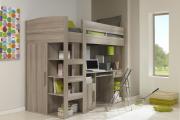 Фото 26 Кровать-чердак для взрослых: для тех, кто давно мечтает о большой и вместительной спальне