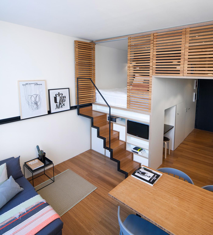Кровать-чердак для взрослых: 70 дизайнерских идей для спальни