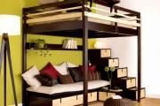 Фото 19 Кровать-чердак для взрослых: для тех, кто давно мечтает о большой и вместительной спальне
