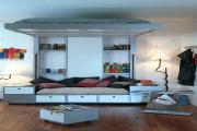 Фото 8 Кровать-чердак для взрослых: для тех, кто давно мечтает о большой и вместительной спальне