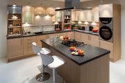 Фото 35 Интерьер кухни площадью 16 кв. метров: как организовать пространство максимально функционально?