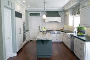 Фото 25 Интерьер кухни площадью 16 кв. метров: как организовать пространство максимально функционально?