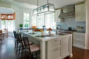 Фото 19 Интерьер кухни площадью 16 кв. метров: как организовать пространство максимально функционально?