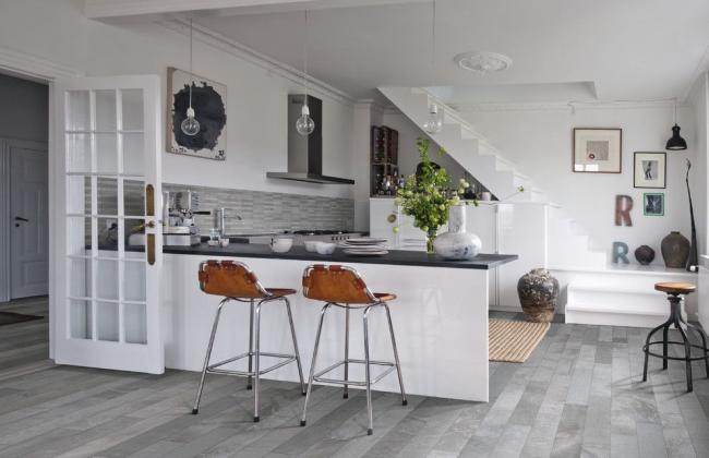 Отличное решение для дополнительной экономии кухонного пространства