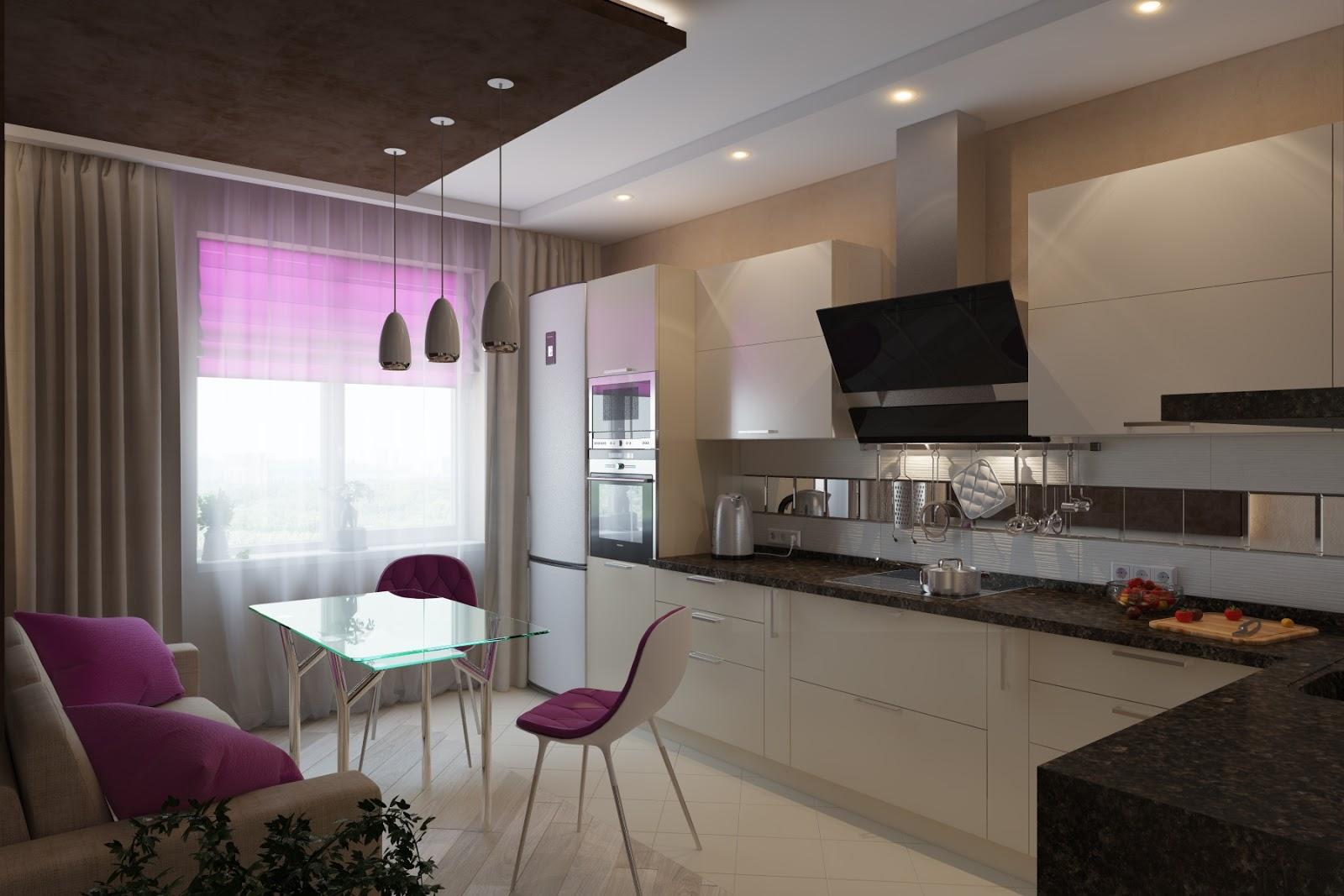 Дизайн кухни 9м2 фото 2015 современные идеи
