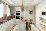 Фото 2 Дизайн кухни в стиле барокко (60+ фото): секреты роскошных интерьеров для настоящих ценителей