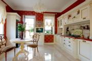 Фото 13 Блеск и утонченность Ренессанса: 60+ роскошных интерьеров кухни в стиле барокко