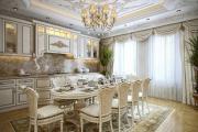 Фото 15 Блеск и утонченность Ренессанса: 60+ роскошных интерьеров кухни в стиле барокко