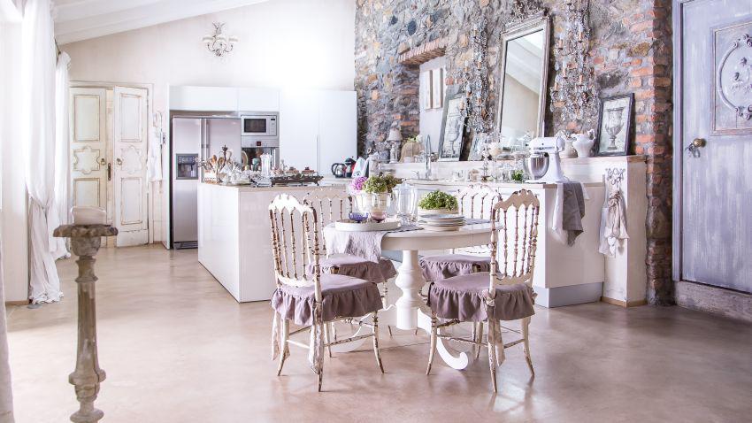 Дизайн кухни в стиле барокко ✅️(100 фото интерьеров для ценителей)