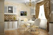 Фото 24 Блеск и утонченность Ренессанса: 60+ роскошных интерьеров кухни в стиле барокко