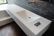 Фото 7 Мойки из акрилового камня: 65+ стильных дизайнерских вариантов для кухни и ванной