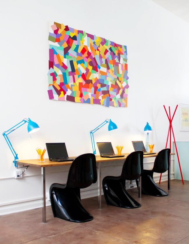 Хоум-офис в духе модерн