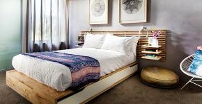 Кровати с ящиками для белья: как выбрать максимально функциональное спальное место? фото