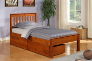 Фото 12 Кровати с ящиками для белья: как выбрать максимально функциональное спальное место?