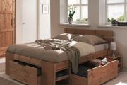 Фото 13 Кровати с ящиками для белья: как выбрать максимально функциональное спальное место?
