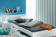 Фото 1 Кровати с ящиками для белья: как выбрать максимально функциональное спальное место?