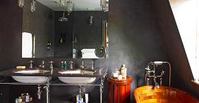 Полотенцесушитель для ванной: 65+ стильных вариантов для интерьера и советы дизайнеров фото