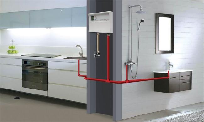 Схема использования нагревателя в трёх точках