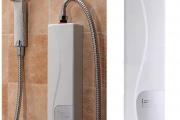 Фото 4 Проточный электрический водонагреватель на душ: выбираем лучший — советы экспертов