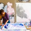 Создаем интерьер полноценной студии: 70 идей рабочего места художника и мастерской в доме фото
