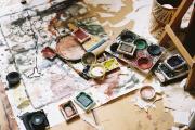 Фото 6 Создаем интерьер полноценной студии: 70 идей рабочего места художника и мастерской в доме
