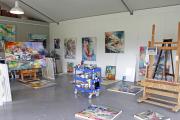 Фото 9 Создаем интерьер полноценной студии: 70 идей рабочего места художника и мастерской в доме