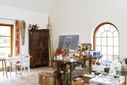 Фото 10 Создаем интерьер полноценной студии: 70 идей рабочего места художника и мастерской в доме