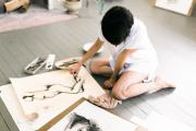 Фото 1 Создаем интерьер полноценной студии: 70 идей рабочего места художника и мастерской в доме