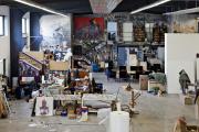 Фото 12 Создаем интерьер полноценной студии: 70 идей рабочего места художника и мастерской в доме