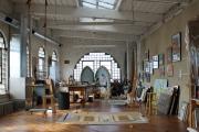 Фото 15 Создаем интерьер полноценной студии: 70 идей рабочего места художника и мастерской в доме