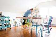Фото 3 Создаем интерьер полноценной студии: 70 идей рабочего места художника и мастерской в доме
