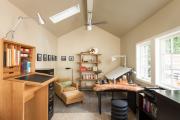 Фото 20 Создаем интерьер полноценной студии: 70 идей рабочего места художника и мастерской в доме