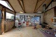 Фото 23 Создаем интерьер полноценной студии: 70 идей рабочего места художника и мастерской в доме