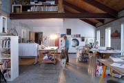 Фото 25 Создаем интерьер полноценной студии: 70 идей рабочего места художника и мастерской в доме