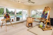 Фото 32 Создаем интерьер полноценной студии: 70 идей рабочего места художника и мастерской в доме