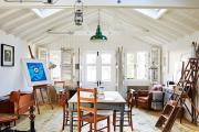 Фото 33 Создаем интерьер полноценной студии: 70 идей рабочего места художника и мастерской в доме