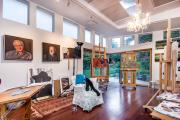 Фото 35 Создаем интерьер полноценной студии: 70 идей рабочего места художника и мастерской в доме