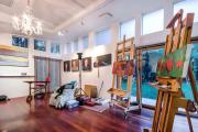 Фото 40 Создаем интерьер полноценной студии: 70 идей рабочего места художника и мастерской в доме