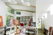 Фото 41 Создаем интерьер полноценной студии: 70 идей рабочего места художника и мастерской в доме