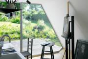 Фото 42 Создаем интерьер полноценной студии: 70 идей рабочего места художника и мастерской в доме