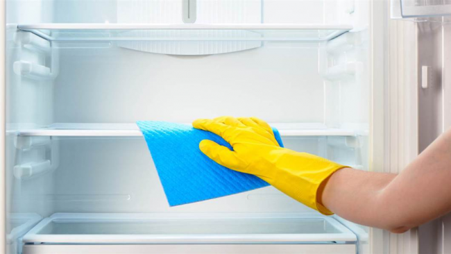 Для легкости удаления загрязнений, используйте моющие средства