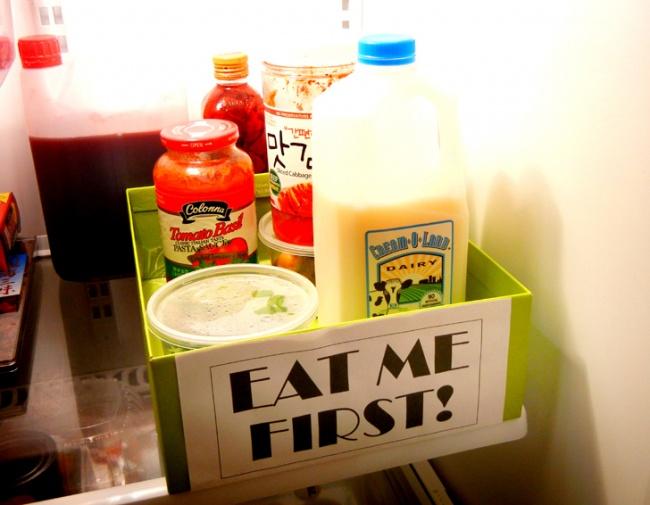 Позаботиться о изъятии продуктов лучше заранее