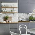 Серая кухня IKEA: популярные модели и дизайнерские варианты обустройства интерьера фото