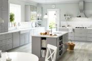 Фото 3 Серая кухня IKEA: популярные модели и дизайнерские варианты обустройства интерьера