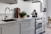 Фото 4 Серая кухня IKEA: популярные модели и дизайнерские варианты обустройства интерьера