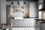 Фото 6 Серая кухня IKEA: популярные модели и дизайнерские варианты обустройства интерьера