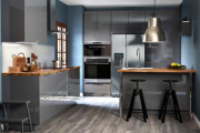 Фото 8 Серая кухня IKEA: популярные модели и дизайнерские варианты обустройства интерьера