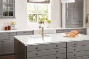 Фото 18 Серая кухня IKEA: популярные модели и дизайнерские варианты обустройства интерьера